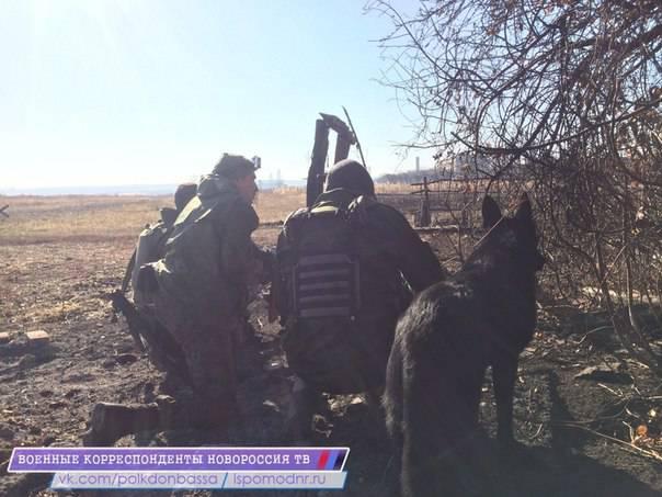 Rapports de la milice de la nouvelle Russie pour novembre 6 2014 de l'année