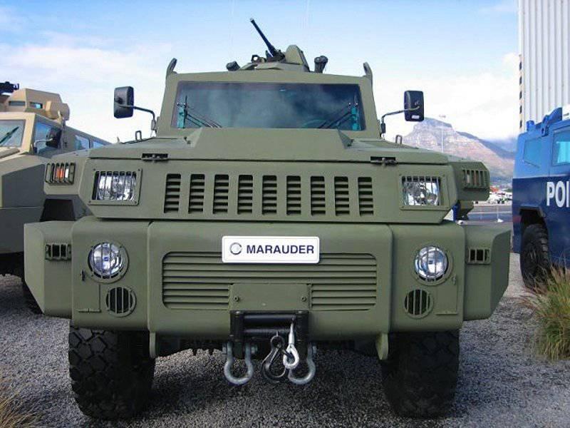 Vehículos blindados de la empresa Grupo Paramount.