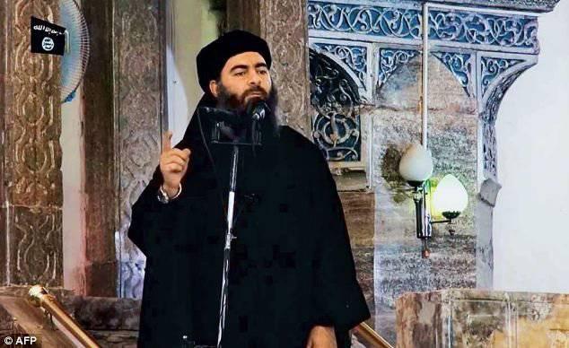 "Caliph ""이슬람 국가""Abu Bakr 알루미늄 Baghdadi는 심각하게 상처를 입었다"