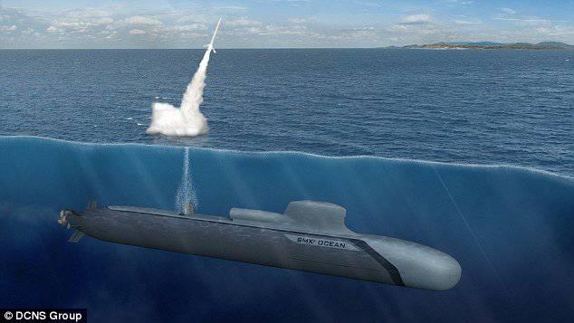 атомная подводная лодка под водой