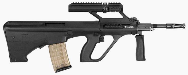 Steyr Arms» выпустила усовершенствованный карабин AUG A3