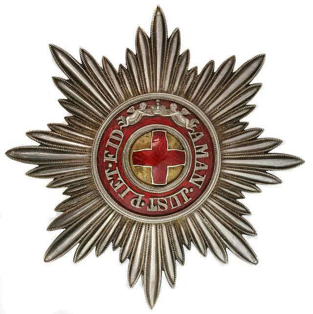 Ордена и медали Российской империи. Орден Святой Анны