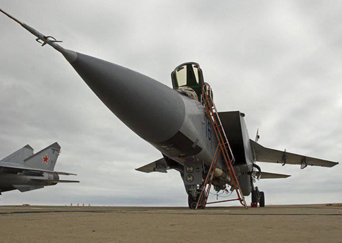 Авиаполк ЗВО перевооружается на истребители МиГ-31БМ