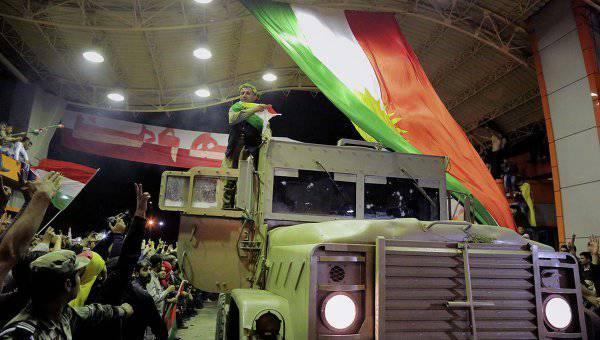 Курдские ополченцы пошли в наступление на позиции боевиков «Исламского государства» в Сирии
