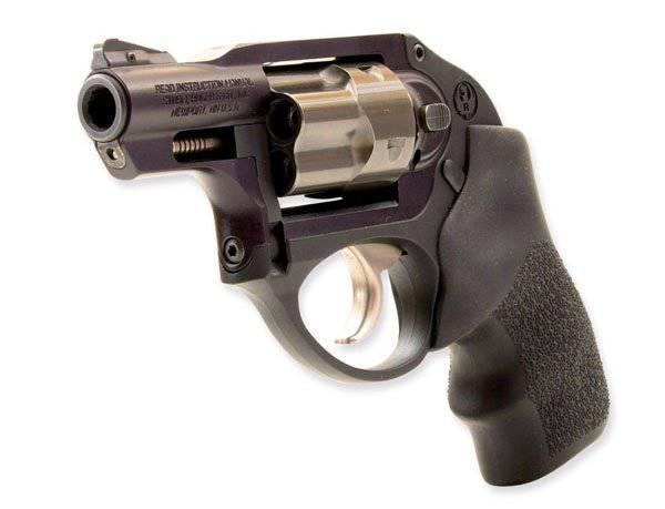 Компактный револьвер Ruger LCR 9 мм Luger