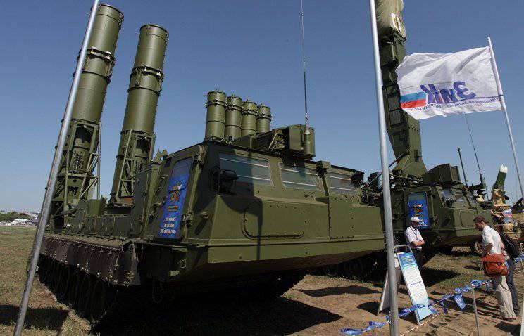 """""""Almaz-Antey"""" colocar sistema de mísseis antiaéreos """"Antey-2500"""" Egito"""