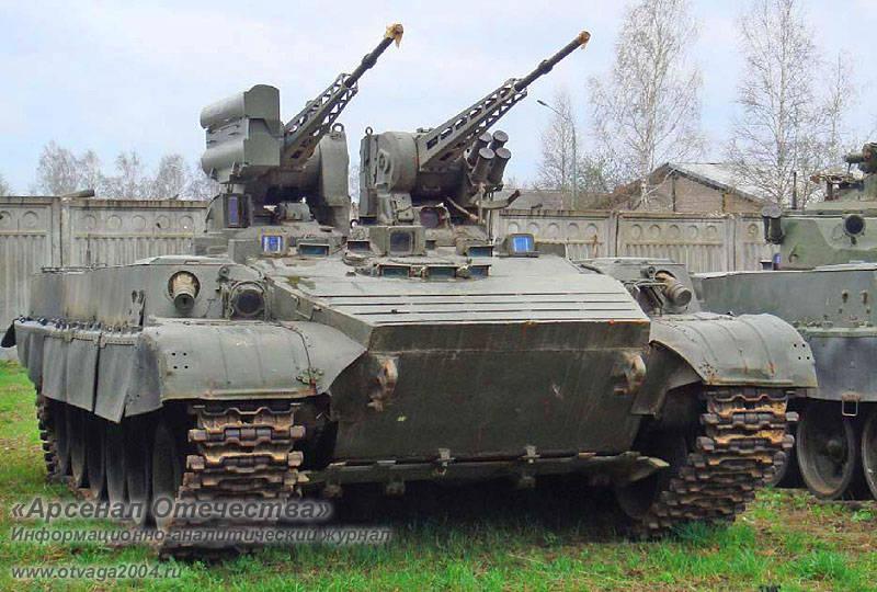 Проекты боевых машин поддержки танков «Объект 781» и «Объект 782»