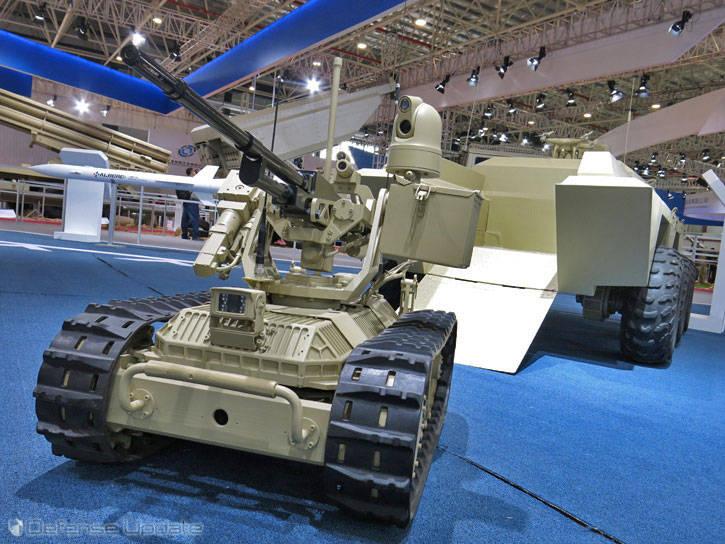 China se dedica al desarrollo de robots de combate.