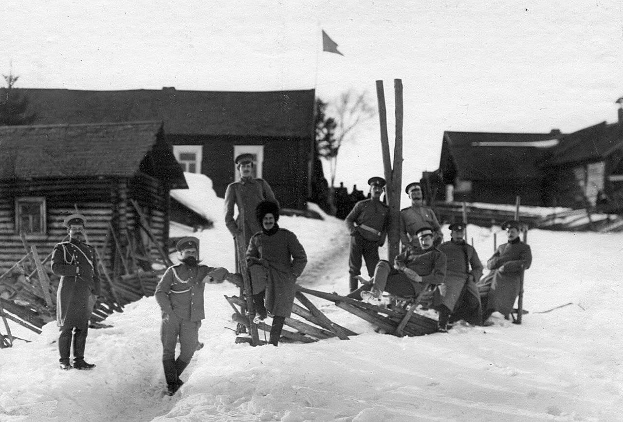 корнет пограничной бригады 19 века после того, как
