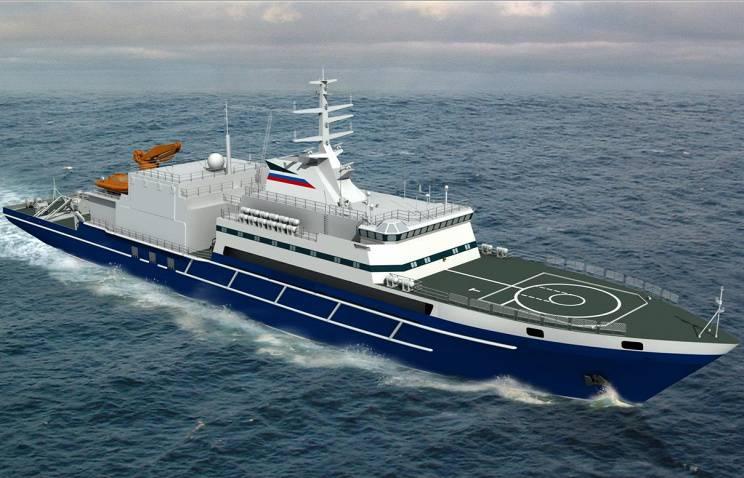 Costruzione di navi ausiliarie per la marina russa