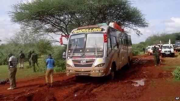 I militanti di Al-Shabab hanno abbattuto i passeggeri su un bus navetta in Kenya