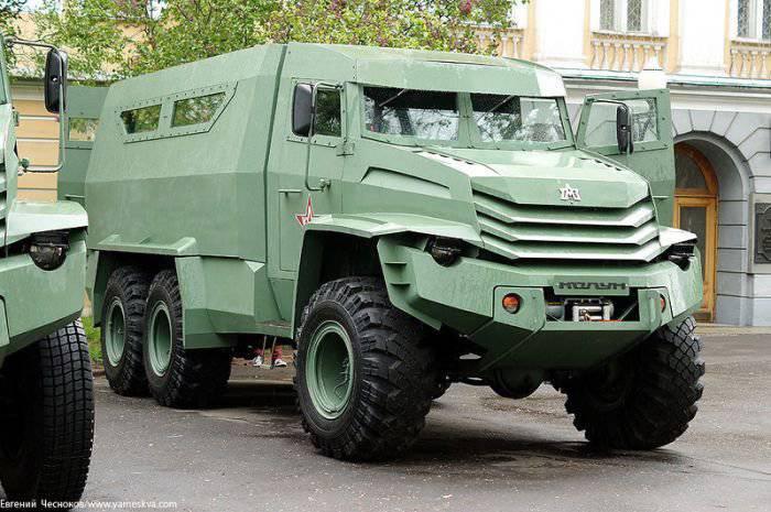 «Вежливые броневики», понравившиеся Путину, завершили программу испытаний
