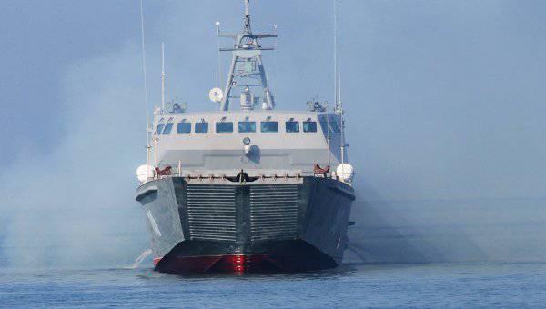 В состав ВМФ РФ вошел новый десантный катер «Денис Давыдов»