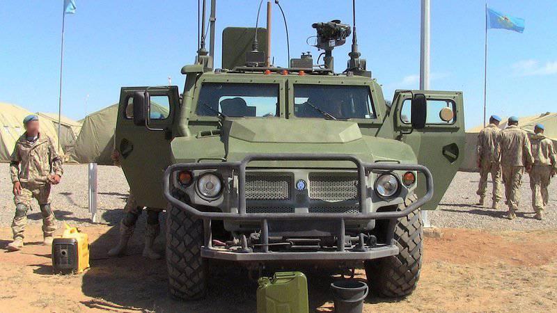 カザフスタン軍の武器