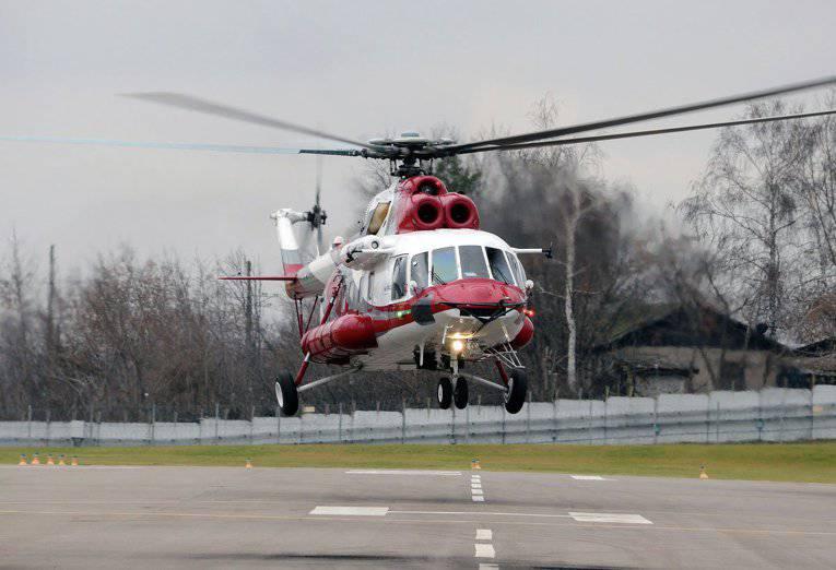 「ロシアのヘリコプター」はMi-171A2の飛行試験を開始しました