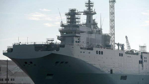 """रूसी रक्षा मंत्रालय: """"मिस्ट्रल"""" की आपूर्ति से इनकार करने के मामले में रूस पर मुकदमा करेंगे"""
