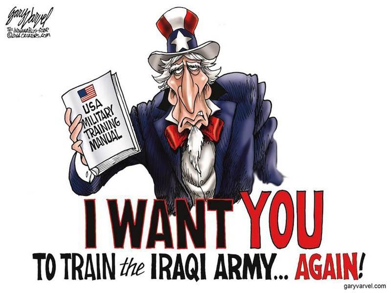 ISIS: संयुक्त राज्य अमेरिका में निर्मित?