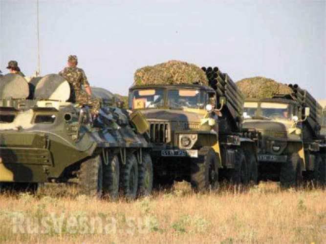 Konstantinovkaには6千人以上のウクライナの治安当局者が集中しています