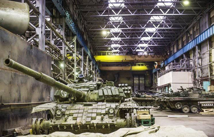 Das Omsker Werk erfüllte vorzeitig den staatlichen Auftrag zur Modernisierung der T-72B3-Tanks