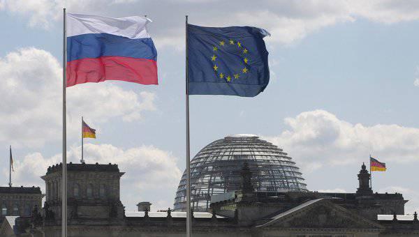 ロシア連邦に関連してドイツの過度に積極的な政策に反対するドイツのビジネスマン