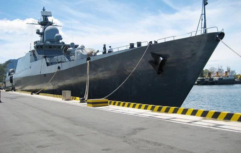 रूसी नौसेना के जहाज वियतनाम लौट आए