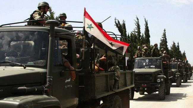 सीरियाई सरकारी बलों ने आतंकवादी समूहों के खिलाफ कई सफल हमले किए