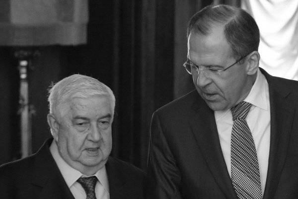 सीरिया के विदेश मंत्री की उत्पादक यात्रा