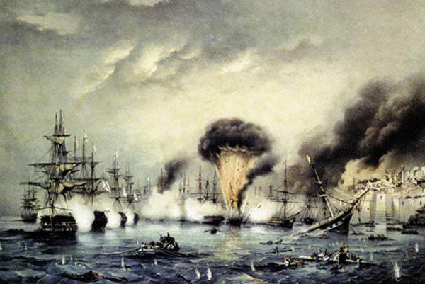 Дни воинской славы России: годовщина Синопской битвы