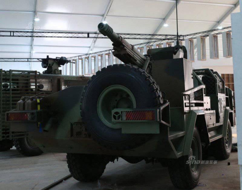 «Машина для специальных операций» Type 15P (Китай)