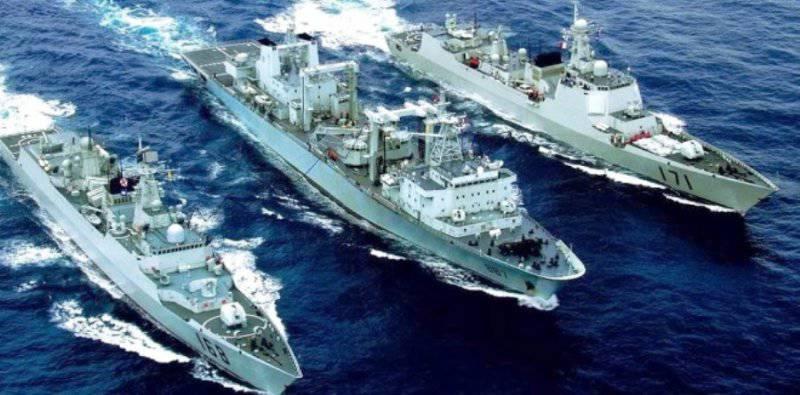 Китай надеется создать в Намибии морскую базу