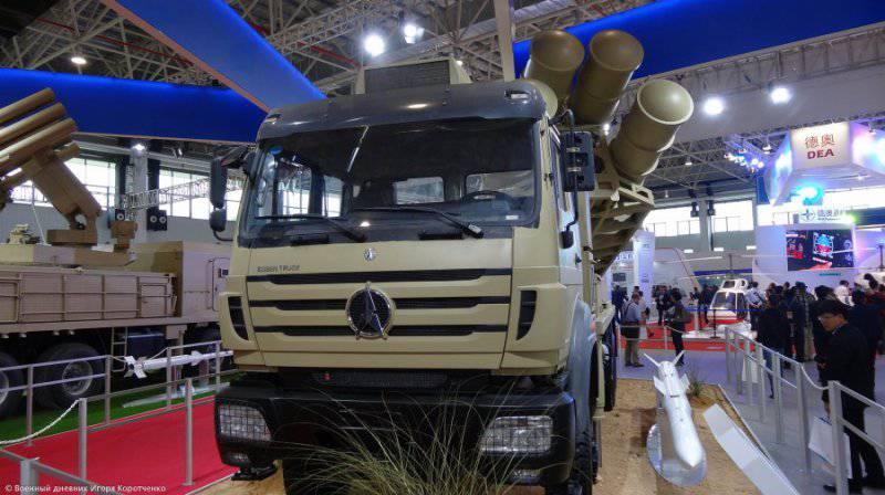 Зенитный ракетный комплекс Sky Dragon 50 (Китай)