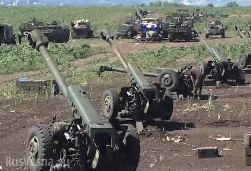 Текущая обстановка на фронтах Донбасса