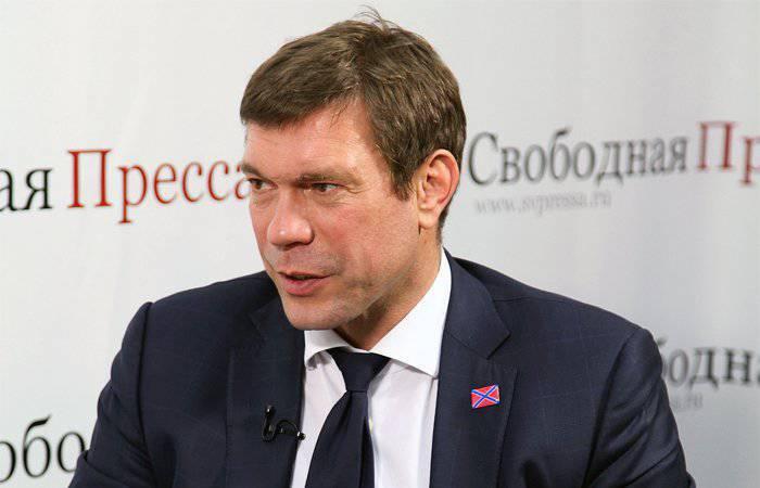त्सरेव: पोरोशेंको द्वारा चुना गया पाठ्यक्रम यूक्रेन के पूर्वी क्षेत्रों को नए रूस के रास्ते पर धकेलता है