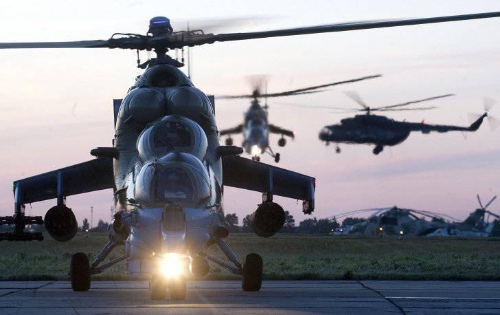 नाइट हंटर्स एंड एलीगेटर्स: रूसी कॉम्बैट हेलीकॉप्टर
