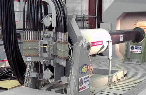बीएई सिस्टम्स ग्राउंड आर्मर्ड वाहनों के लिए एक रेल गन बनाता है
