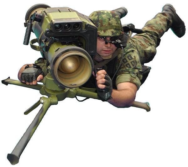 """एंटी टैंक मिसाइल कॉम्प्लेक्स """"बम्बर"""" (सर्बिया)"""