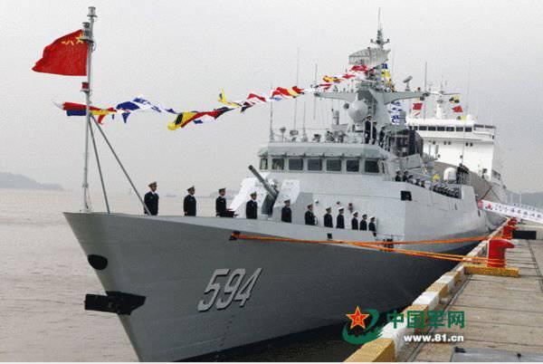 Военно-морские силы Китая получили два корвета «Тип 056»