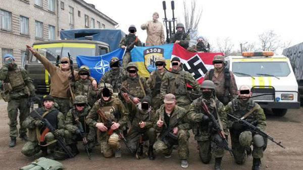 NATO:「そしてウクライナのファシストはどこにいるの?」 NATOへのロシア連邦の常任代表:「これが彼らだ!」