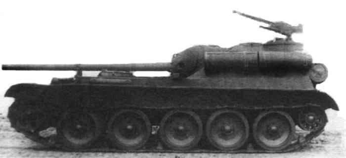Проект «Уралмаш-1»: самоходки СУ-101 и СУ-102