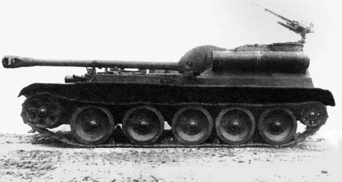 САУ. Проект «Уралмаш-1»: самоходки СУ-101 и СУ-102