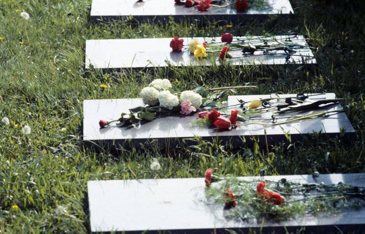 파괴자는 폴란드 인 Bialystok에서 소련 병사들의 묘지를 모독했다.