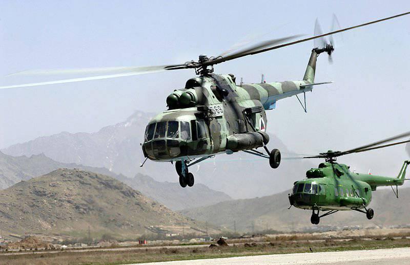 अमेरिका अफगानिस्तान में हेलीकॉप्टरों के रखरखाव पर रूसी संघ के साथ सहयोग फिर से शुरू करने के लिए तैयार है