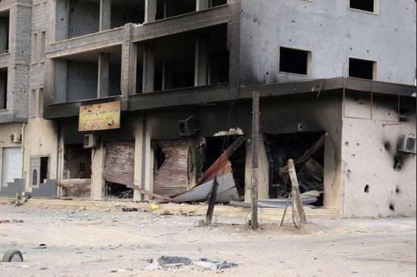 लीबिया की वायु सेना ने त्रिपोली में आतंकवादियों पर हमला किया