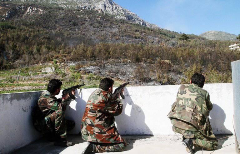 シリア軍が軍用飛行場へのIG攻撃を撃退しました