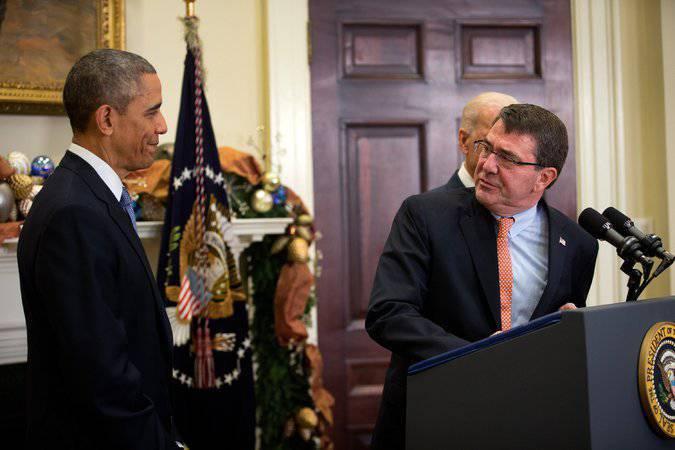 ओबामा ने एक नया पेंटागन प्रमुख नामित किया है