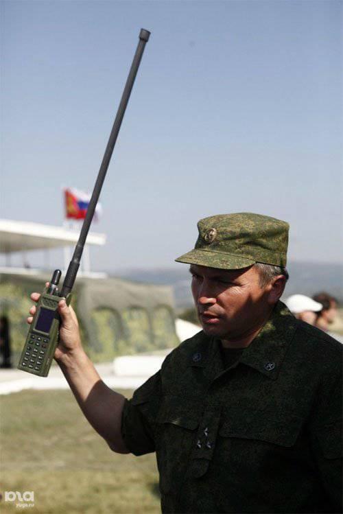 """समारा शांति रक्षक ब्रिगेड को 6 पीढ़ी P-187P1 """"अज़ान"""" के संचार परिसर मिले"""