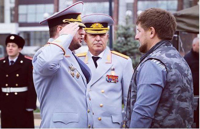 चेचन्या के प्रमुख ने यूक्रेनी सैनिकों के चेचन गणराज्य को डिलीवरी का आदेश दिया जिन्होंने ग्रोज़नी पर आतंकवादी हमले के लिए समर्थन व्यक्त किया