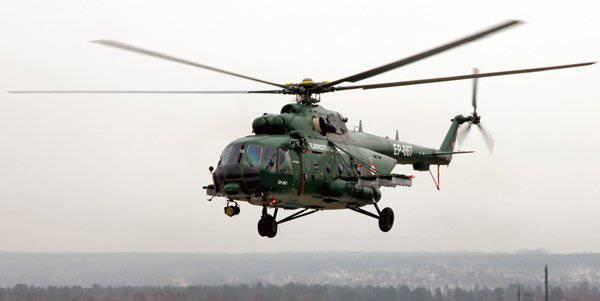 Ulan-Udeからの製造業者はMi-8AMTSHヘリコプターの北極変形をテストし始める準備ができています