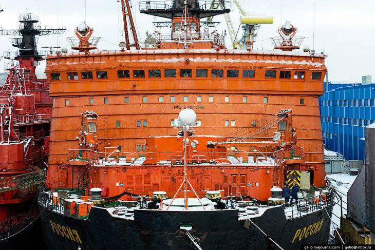 Atomic icebreakers of Russia