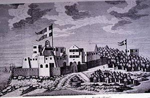 新旧世界とその擁護者のデンマーク植民地帝国